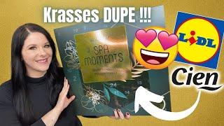 KRASSES DUPE ! Lidl Adventskalender 2021 | SPA MOMENTS | Full UNBOXING