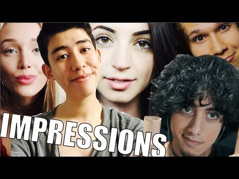 [ASMR] IMPERSONATIONS OF OTHER ASMRTISTS #3