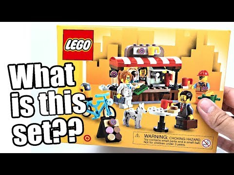 LEGO Bean There, Donut That review! What the HECK is this set?!