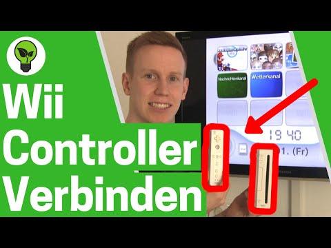 Wii Controller Verbinden ✅ ULTIMATIVE ANLEITUNG: Wie Nintendo Wii Fernbedienung richtig Anmelden???