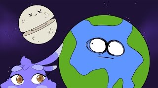 What Would Happen If The Moon Were Cut In Half?   Dolan Life Mysteries ft. Melissa