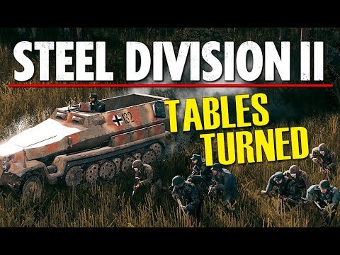 TABLES TURNED! Steel Division 2 BETA Conquest Gameplay (Orsha, 1v1)