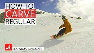 #29 Snowboard intermediate – How to carve on a snowboard