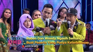Ruben Dan Wendy Ngasih Semangat Buat Peserta Yang Punya Keterbatasan Ini - New Kilau DMD (8/1)