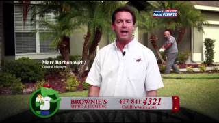 Orlando Septic Services | (407) 841-4321 Call Brownies Septic & Plumbing