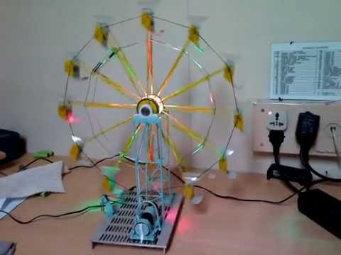 Ferris wheel home made prototype