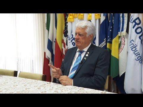 Governador do Rotary faz visitas aos cinco Rotarys Club de Nova Friburgo