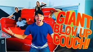GIANT INDOOR BOUNCY HOUSE CHAIR!!
