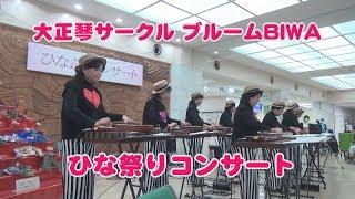 【ご近所サークル図鑑】大正琴サークルブルームBIWA ひな祭りコンサート