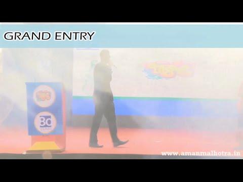 Grand Entry | Aman Malhotra (Anchor)