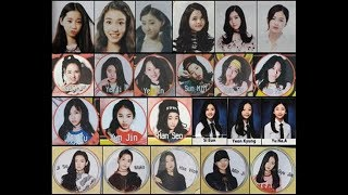 JYP Girl's Trainees