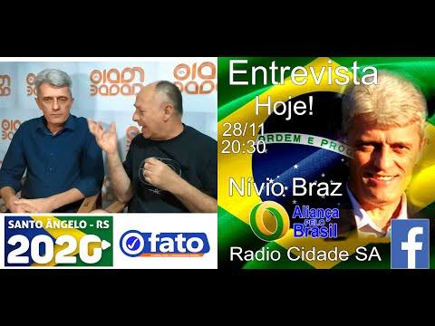 Nívio Braz e Jairo Ferreira Rádio Cidade