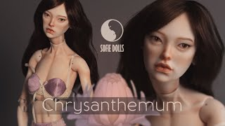 Making Chrysanthemum: Porcelain BJD From Scratch To Final Result By Sofie Dolls