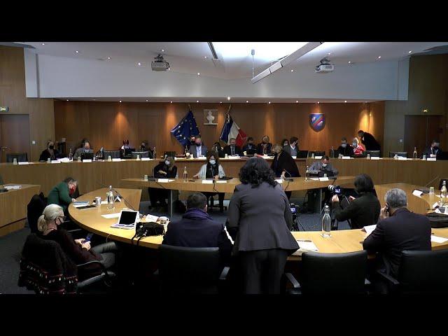 Conseil municipal du 15 décembre 2020