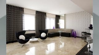 Wohnzimmer Fliesen Modern