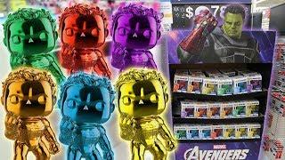 Endgame Chrome Hulk Funko Pop Hunting! (Infinity Stones)