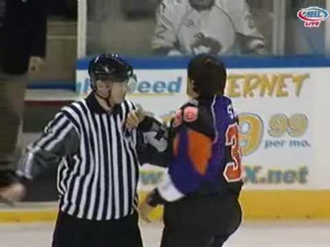 Deryk Engelland vs. Jeff Szwez