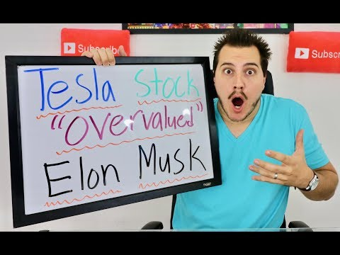 , title : 'OMG ELON MUSK SAYS TESLA STOCK IS OVERVALUED!'