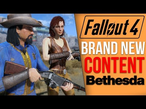 Bethesda is Adding Brand New Weapons and More to Fallout 4