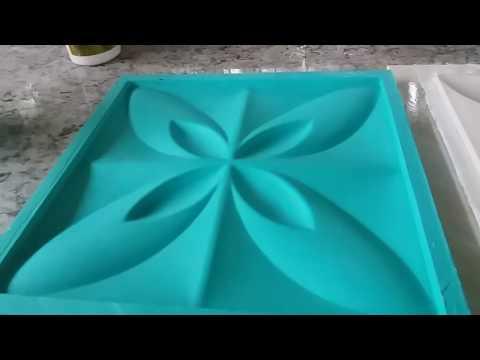 Molde 3D com forma pvc