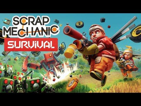 Scrap Mechanic Survival RELEASE DAY Live Stream