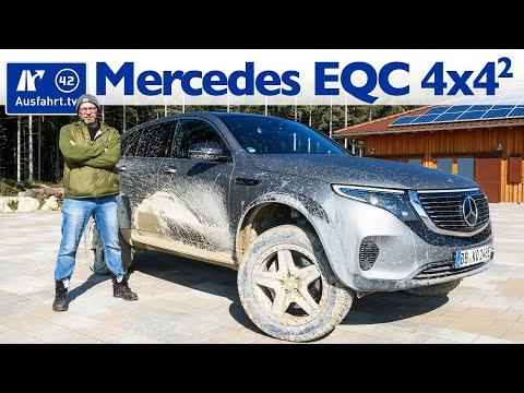 Mein neues Auto? Mercedes Benz EQC 400 4x4² im Offroad-Gelände