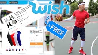 Testing FREE BASKETBALL GEAR From Wish