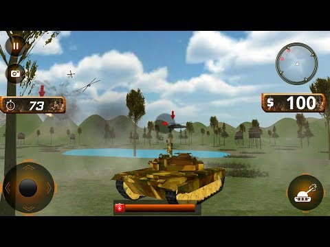 War Of Tanks Shooting Tank Battlefield (by IBM Games) Android Gameplay [HD]