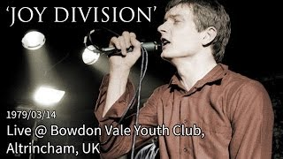 Joy Division - She's Lost Control, Shadowplay, Leaders of Men (Live)
