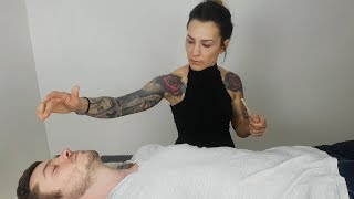 ASMR Reiki Therapy *Negative Energy Cleansing*