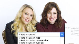 Kate McKinnon & Vanessa Bayer Answer the Web's Most Searched Questions | WIRED