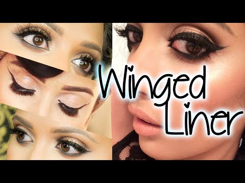 Perfect Winged Liner + Tips For Round Eyes!