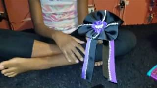 How I Made My New Cheer Bows