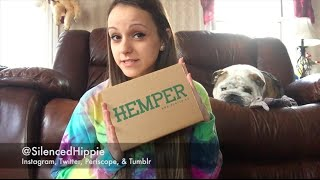 Hemper Unboxing: January 2016 by Silenced Hippie