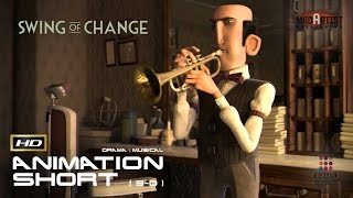 CGI 3D Animated Short Film 'SWING OF CHANGE' Musical Animation by ESMA