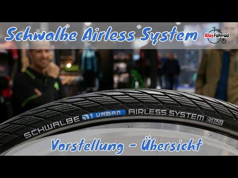 Airless System von Schwalbe - kein platten Reifen und aufpumpen mehr!
