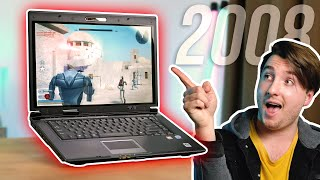 Using A Gaming Laptop From 2008!