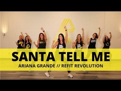 """Santa Tell Me""    Ariana Grande    Cardio Dance    REFIT® Revolution"