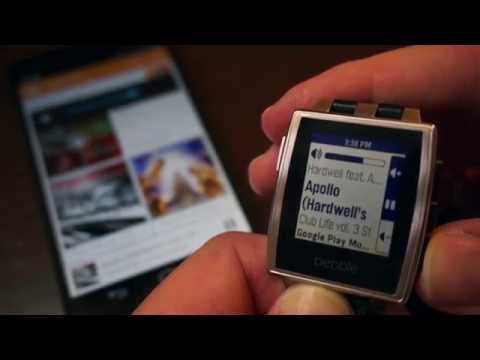 Video of Music Boss for Pebble