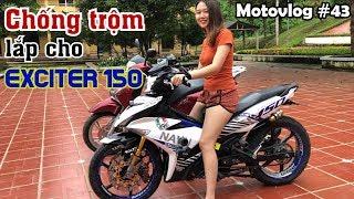 Có nên lắp chống trộm xe máy? Thử nghiệm các tính năng của bộ chống trộm Pitech Fox | Motovlog 43