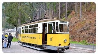 preview picture of video 'Die Kirnitzschtalbahn 1/2 - Straßenbahnen im Kirnitzschtal - historic tram'
