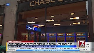 Chase Bank Addresses Checking Account Problems