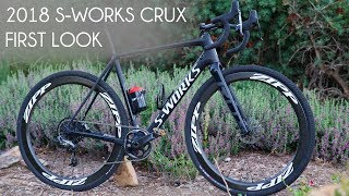 First Look 2018 Specialized CRUX . VLOG 276