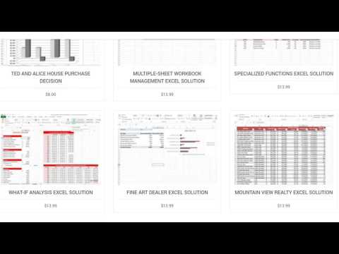 All myItLab Excel Solutions - смотреть онлайн на Hah Life