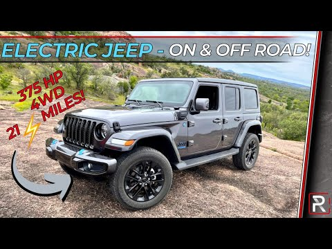 The 2021 Jeep Wrangler 4xe is No Compromise Electrified Wrangler For On & Off The Road