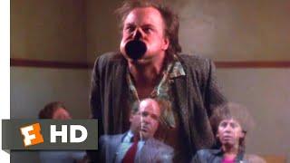 Burglar (1987) - Interrogating the Insane Scene (5/9)   Movieclips