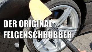 Der original Felgenschrubber - Felgenschrubber - Felgenbürste - Felgenreiniger