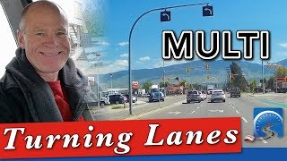 How to Turn at Complex Intersections with Multiple Turning Lanes