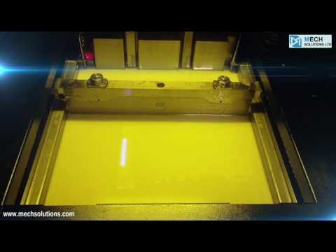 Prototype 3d Printing with UnionTech RSPRO450 SLA 3D Printer