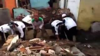 Aksi Kemanusiaan FPI Pada Bencana Banjir Bandang Garut Jawa Barat 2016